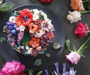 flowers and food image