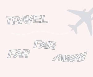 aeroplane, away, and far away image