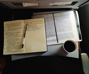 calendar, coffee, and motivation image