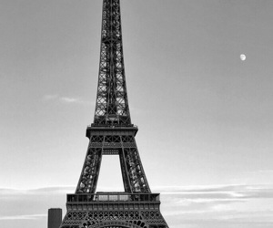 b&w, paris, and black and white image