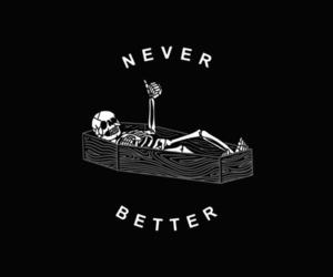 black, skeleton, and dead image
