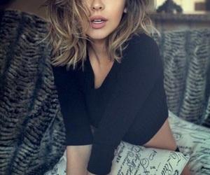blonde, brunette, and balayage image