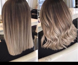 blonde and balayage image