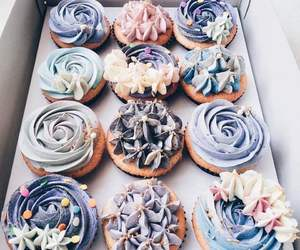 food, cupcake, and dessert image