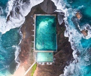 sea, pool, and summer image