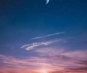 cielo, moon, and love image