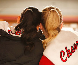 glee, naya rivera, and brittana image