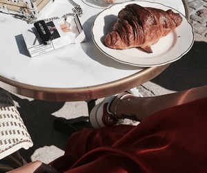 breakfast and croissant image