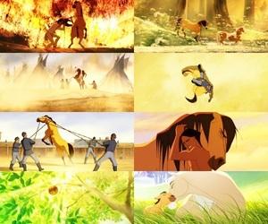 horse, movie, and spirit image