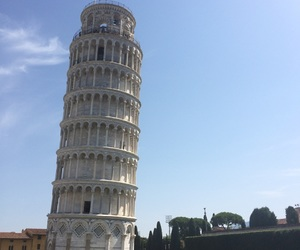 adventure, the leaning tower of pisa, and sky image