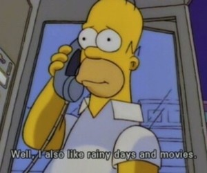 movies, the simpsons, and simpsons image