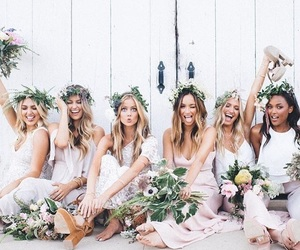 bride, ceremony, and girls image
