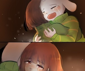 emotions, sadness, and undertale image