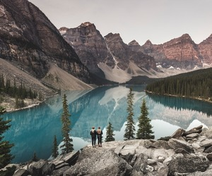 indie, lake, and landscape image