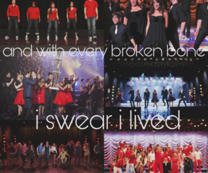 dreams come true, glee, and glee cast image