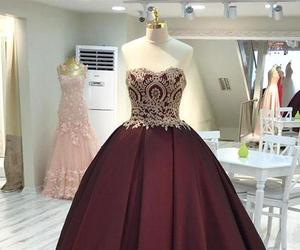 dress, formal dress, and woman dress image