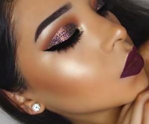 eyeshadow, glitter, and beatface image