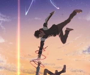 anime, taki, and your name image