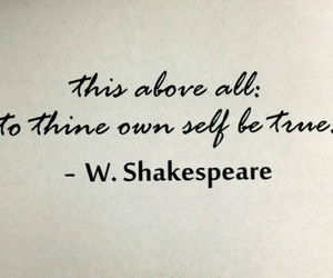 be yourself, quotes, and william shakespeare image