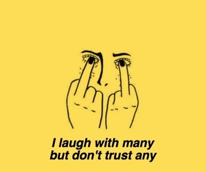 laugh, trust, and wallpaper image