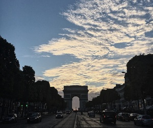 arc de triomphe, paris, and vsco image