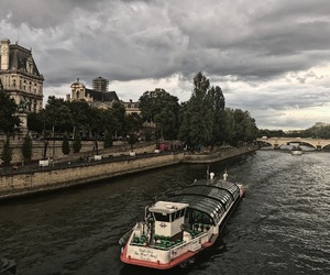 Notre Dame de Paris, pont arcole, and paris image
