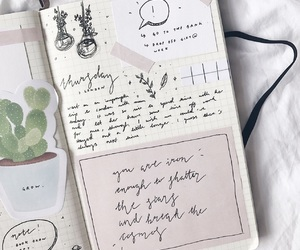 bujo, inspiration, and planner image