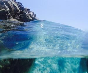Greece, Island, and swimming image