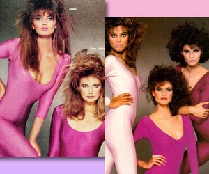 80s, supermodels, and fashion image
