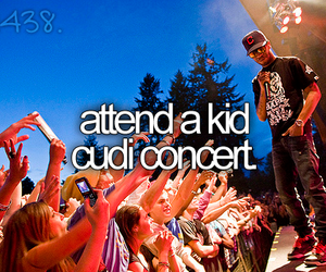 concert, kid cudi, and attend image