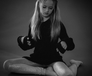 black and white and kristina pimenova image