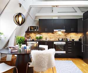 dream kitchen, home, and house image