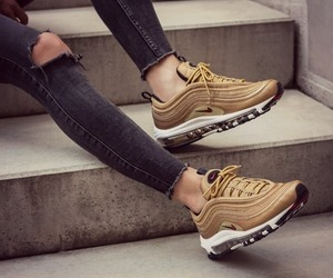 girl, shoes, and airmax97 image
