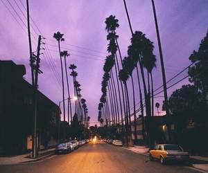 purple, sky, and summer image