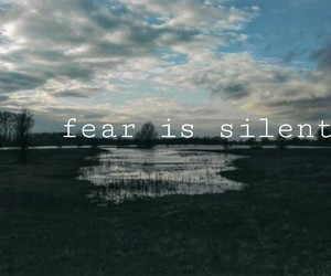 afraid, fear, and loneliness image