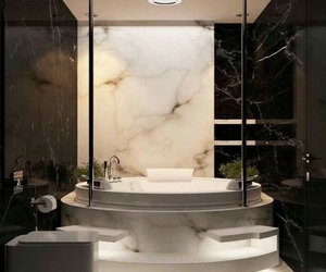 bathroom, luxury, and goals image
