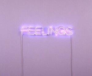 feelings, purple, and aesthetic image