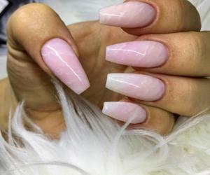acrylics, long nails, and nail polish image