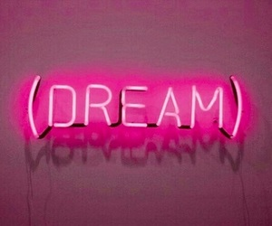 Dream, pink, and light image