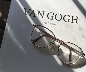 book, van gogh, and aesthetic image