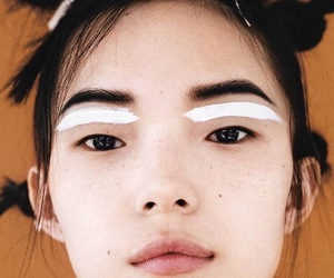 model, asian, and makeup image