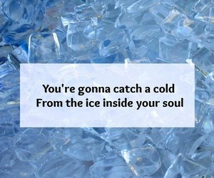 broken, cold, and ice image