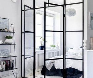 black and white, home, and home design image
