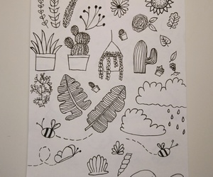 art, doodle, and nature image