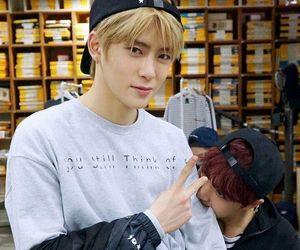jaehyun, nct, and haechan image