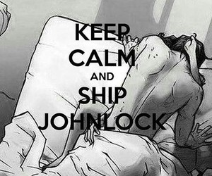 bbc, sherlock, and keep calm and image