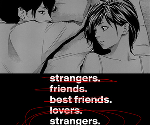 best friends, lovers, and strangers image