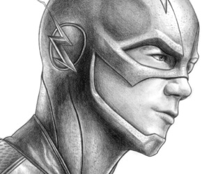 the flash and drawing image