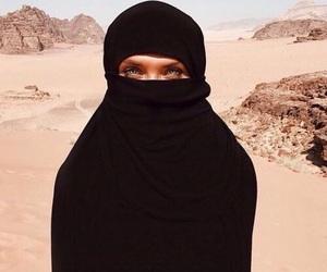 baddies, désert, and voilée image