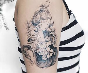 body art, ink, and tattoo image
